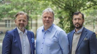 Mikael Claesson - grundare, Lars-Ola Hahlin - medgrundare, Ervin Fazlic - partner