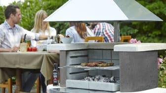 Forlæng grillaftenen med udendørs pejsehygge