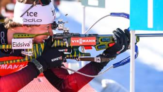 NY VERDENSCUP FOR STURLA: Den ferske eliteløperen Sturla Holm Lægreid ligger som nummer to totalt i verdenscupen. Foto: Kevin Voigt