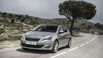 Världspremiär för nya Peugeot 308 - nyskapande cockpit, innovativ och underhållande på vägen