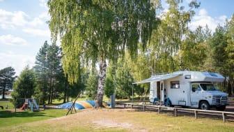 Husbil, husvagn och campingstugor är en boendeform som lockar många resenärer och majoriteten av de tillfrågade aktörerna uppger att de har ett mycket bra bokningsläge, jämfört med både 2019 och 2020.