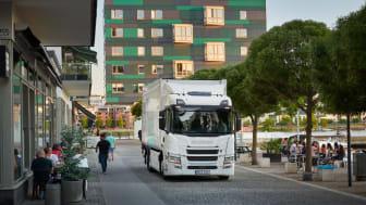 Scania führt die neue Elektro-Lkw-Baureihe ein.