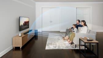 Иммерсивный звук и кинотеатральное качество звучания в комфортной и надежной обстановке вашего дома