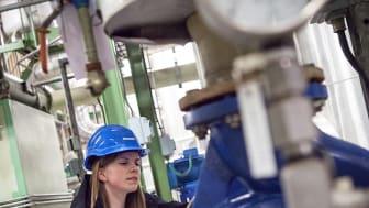 Ida Arvidsson, energiingenjör på Öresundskraft, vet hur en energideklaration ska utföras.