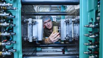 Den 5-7 oktober bjuder Carmo A/S in svenska företag till att uppleva en ny hybrid tillverkningsmetod som utnyttjar 3D-printning för att utveckla funktionella prototyper för formsprutning på rekordtid. Foto: Carmo A/S.