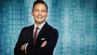 Andreas Hatzigeorgiou, vd för Stockholms Handelskammare som är en av flera partners som samarbetat för att förverkliga Nobel Week Lights.