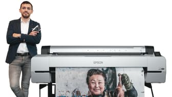 The Epson SureColor SC-P20070 was instrumental in bringing Jose Jeuland's depiction of South Korean sea women to life at his inaugural photo exhibition.