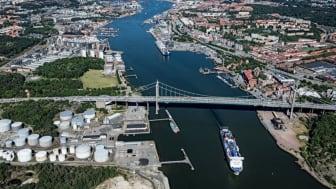 Om 15 år är planen att det ska vara möjligt att åka spårvagn över eller under Göta älv mellan Lindholmen och Stigberget.