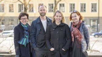 Kerstin Eken, Mårten Leringe, Vendela Martinac och Katarina Ringstedt. Foto: Ola Hedin