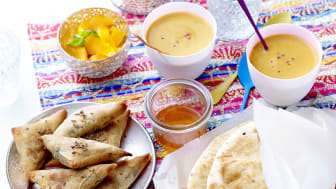 Indiska grönsakssamosas