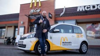 McDonald's Ehmann weitet Lieferservice nach Wunstorf und Hannover-Lahe aus