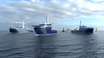 Kongsberg Maritime will supply highly efficient PM propulsion for Rem Offshore's new wind farm service vessels