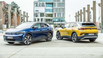 ID.4 er den anden ID.-elbil fra Volkswagen og er det elektriske alternativ i klassen for kompakte SUV'er