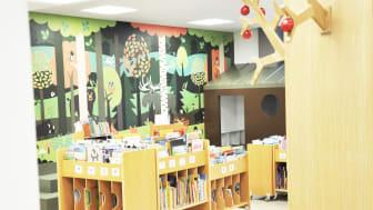 Nya Oxiebiblioteket slår upp dörrarna
