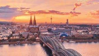Panorama over Köln © KölnTourismus GmbH
