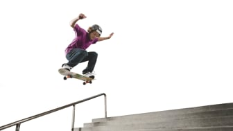 Tusentals barn skadar sig varje år i samband med skateboard och inlines