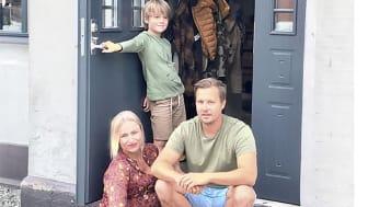 Elfa_Skräddarsydda förvaringslösningar hemma hos Maria och Patrik.