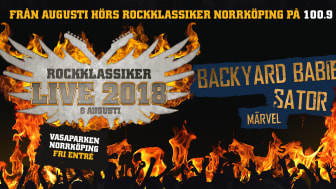 Rockklassiker Live 2018 - Vasaparken, Norrköping