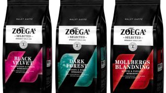 Zoégas lanserar malet kaffe i mindre förpackningar – gör det lättare att ha flera sorter hemma