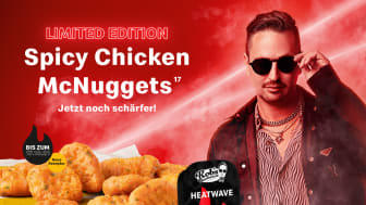 McDonald's x Robin Schulz: Weltberühmter DJ liefert passenden Dip zu den beliebten Spicy Chicken McNugget