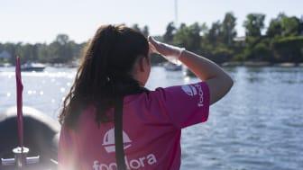 foodora gir ordet sjømat en ny betydning - tester matlevering med båt