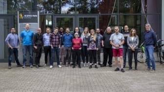 Professorer, doktorander och studenter som deltar i HEVGA Europe Games Research Summer School 2019.