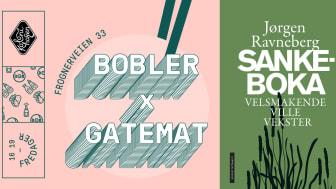 """Vi blir mer og mer opptatt av spiselige, ville vekster. Fredag klokken 1600  blir det boklansering med """"Bobler x Gatemat x Sankeboka"""" på Kolonihagen Frogner i Oslo."""