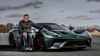 Jason Watt med sin helt egen Ford GT
