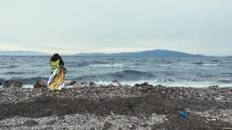 Lesvos stränder vid östra medelhavsgränsen. Foto: Robert Mull