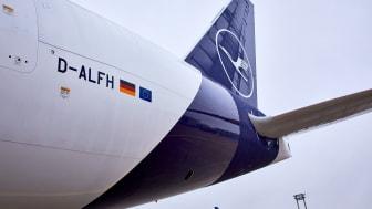 Achte B777F der Lufthansa Cargo, D-ALFH, Namaste India