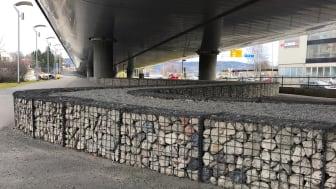 Gabioner i knust betong – Foto Jan Eldegard Hjelle, Byggutengrenser