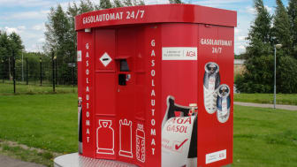 AGAs gasolautomat i Ramlösa, Helsingborg