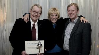 Donation från Trollhättan och Uddevalla till Högskolan Väst