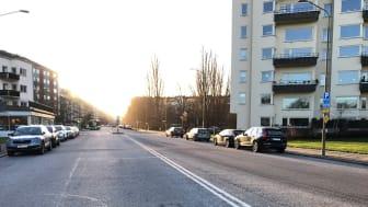 Nu bygger vi 800 meter cykelbana längs Tessins väg