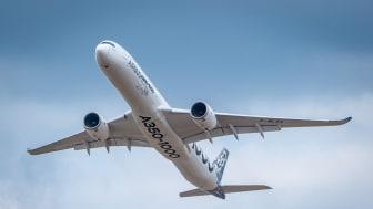 Med additiv tillverkning blir det exempelvis möjligt att producera effektivare och mer miljövänliga flygmotorer. Foto: Airbus