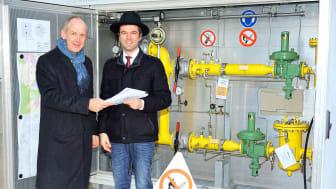 Neue Erdgasnetze in Weiding gehen offiziell in Betrieb