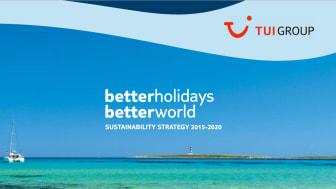 "TUI Group lanserar ""Better Holidays, Better World"""
