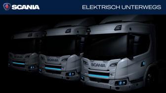"""Im neuen Themenspezial """"Scania bewegt: Elektrisch unterwegs"""" beantworten wir viele Fragen rund um Elektromobilität."""