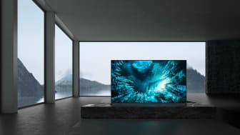 Le téléviseur 8K HDR Full Array LED ZH8 de Sony bientôt disponible