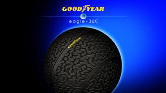 Goodyear lanserar Eagle-360, ett visionärt konceptdäck för framtidens autonoma fordon