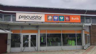 Procurator i Västerås ligger på Omformargatan 2.