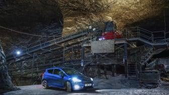 Noua generație Ford Fiesta ST își dezvăluie întregul potențial într-o mină de sare