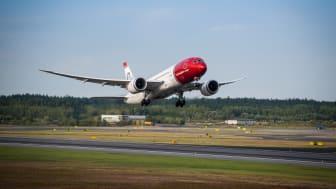 Norwegian med 14 procent passagervækst i juni