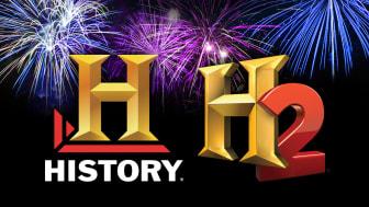 Uusi vuosi jyrähtää käyntiin rytinällä HISTORY- ja H2-kanavilla!