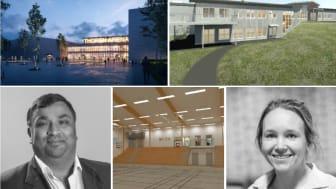 Thoren Arena och Mötesplats Stöcke kommer att berika idrotts-Umeå. Enligt Raja Thorén och Maria Bergstén har samarbetet dem emellan betytt mycket för projekten.