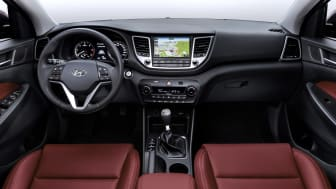 Nye Hyundai Tucson - interiør II