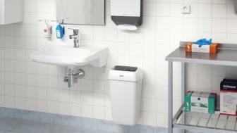 FM Mattssons nya tvättställsblandare, MEDICARE, uppfyller marknadens tillgänglighets- och hygienkrav.