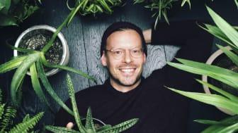 Kan ikke få for mange planter: Anders Røyneberg @arcticgardener har laget sin egen innendørs jungel på Grünerløkka.