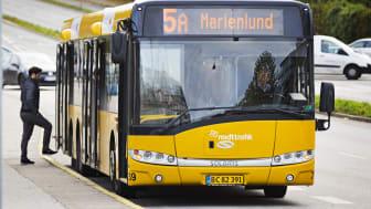Rejs flere på samme rejsekort i Aarhus bybusser