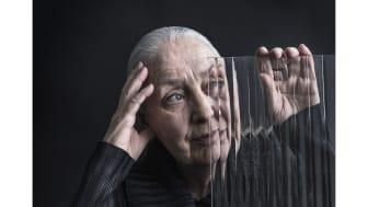 © Bruno Ehrs, Ingegerd Råman. 2019 års hedersporträtt, Statens porträttsamling.